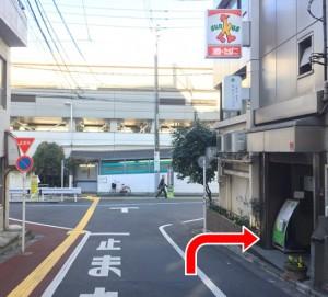 アクセス③早稲田口共通