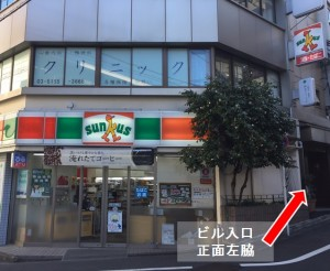 アクセス戸山口改札②